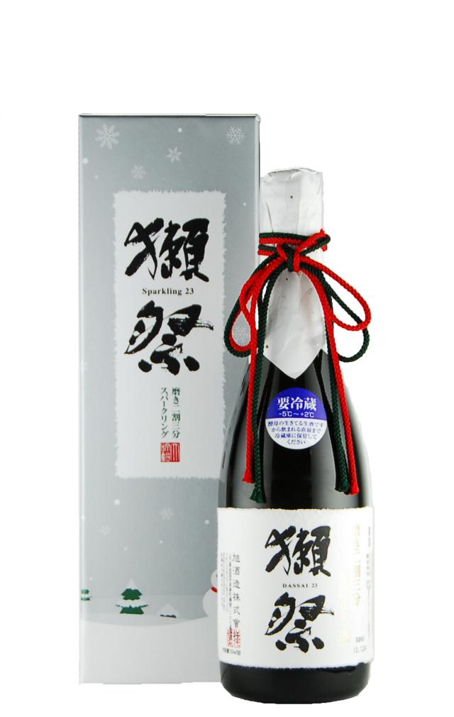 獺祭 純米大吟醸 磨き二割三分 発泡にごり酒(720ml)