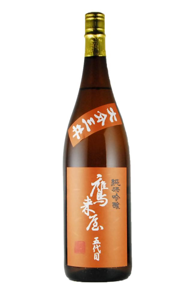鷹来屋 純米吟醸 大分三井(1800ml)