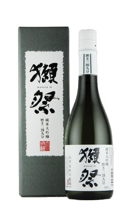 獺祭 純米大吟醸 磨き三割九分 DX箱入り(720ml)