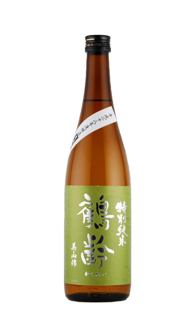 鶴齢 特別純米 美山錦 無濾過生(720ml)