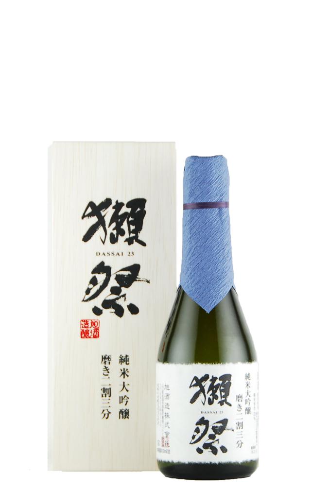 獺祭 純米大吟醸 磨き二割三分 木箱入り(300ml)