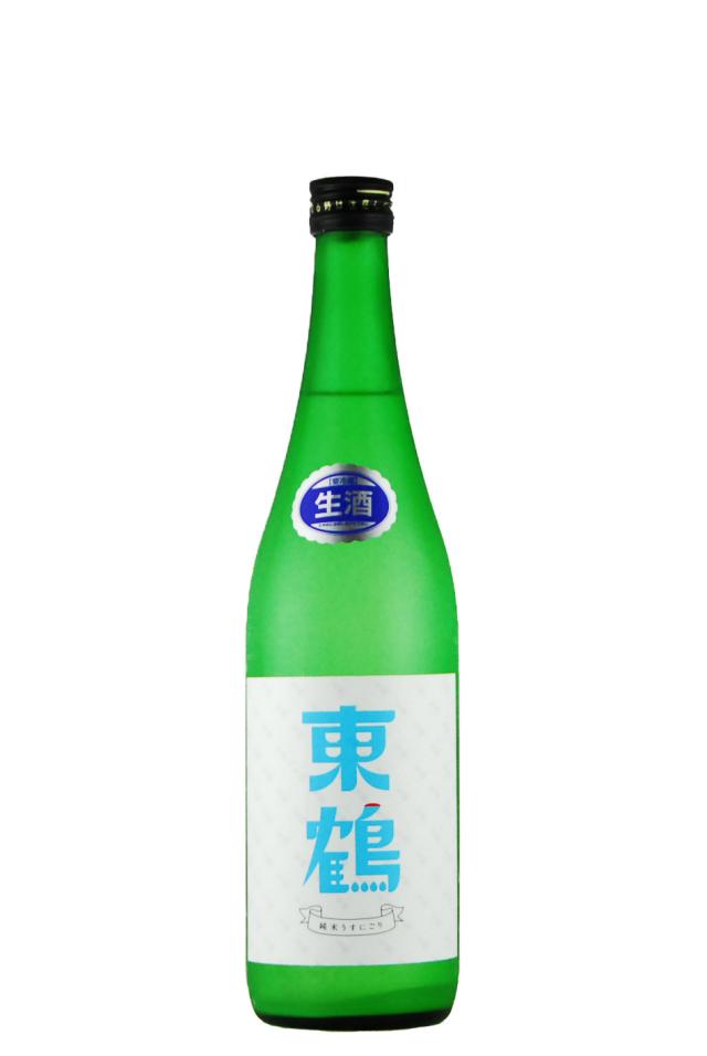 東鶴 純米酒 うすにごり(720ml)
