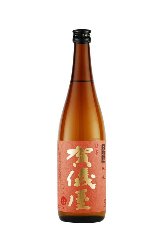 伊予賀儀屋 無濾過 純米酒 赤ラベル(720ml)