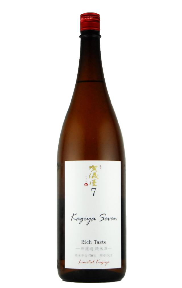 伊予賀儀屋 純米原酒 KAGIYA SEVEN 7(1800ml)