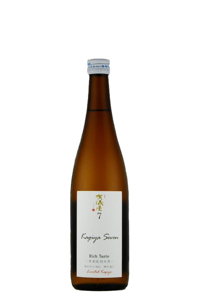 伊予賀儀屋 純米原酒 KAGIYA SEVEN 7(720ml)