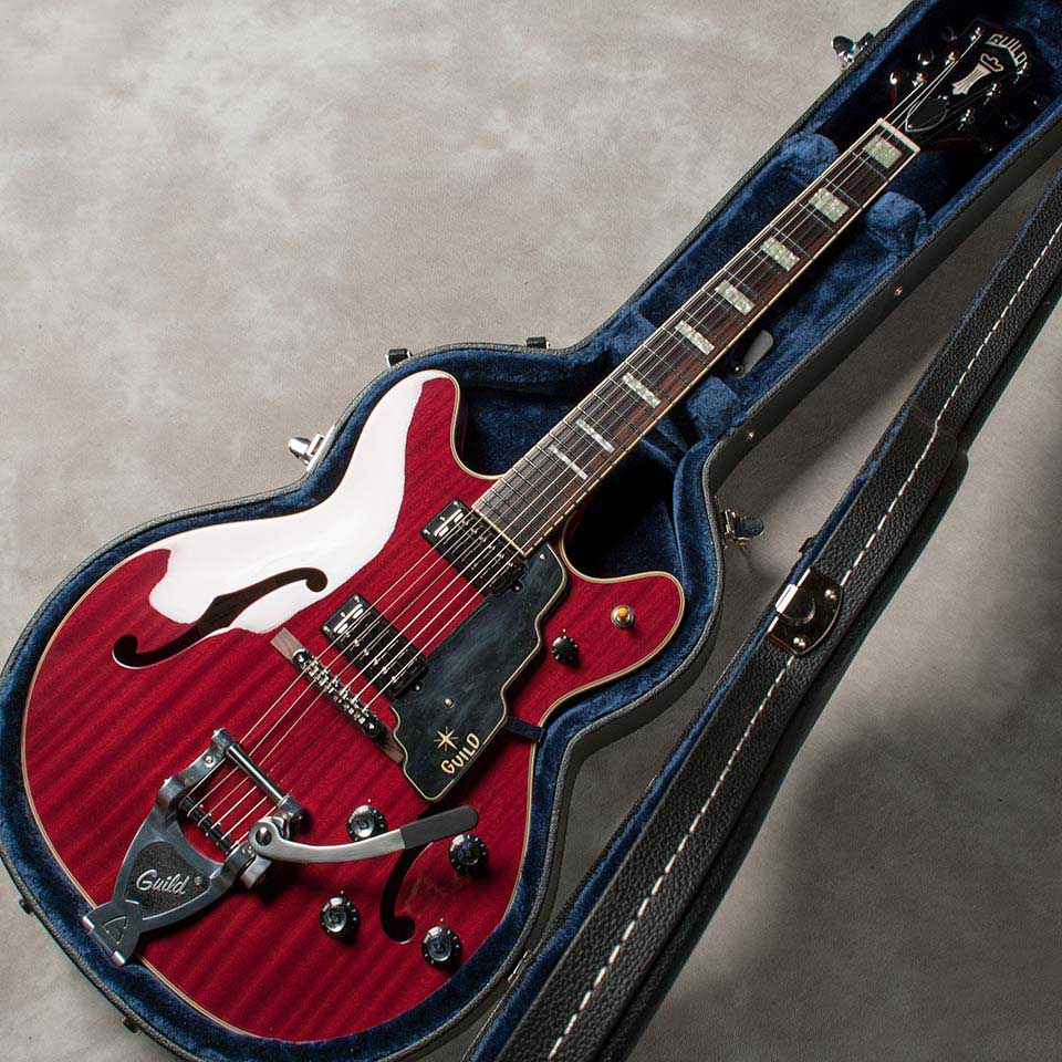 "GUILD/""Newark St. Collection"" Starfire V CH (Cherry)【お取り寄せ商品】"