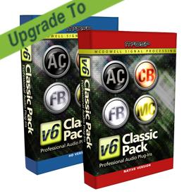 McDSP/Classic Pack Native v4 to Classic Pack Native v6【オンライン納品】