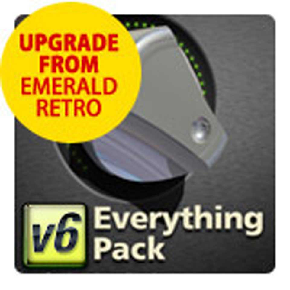 McDSP/Everything Pack Native v6.3 from Emerald Pack Native v6 and Retro Pack Native v6【オンライン納品】