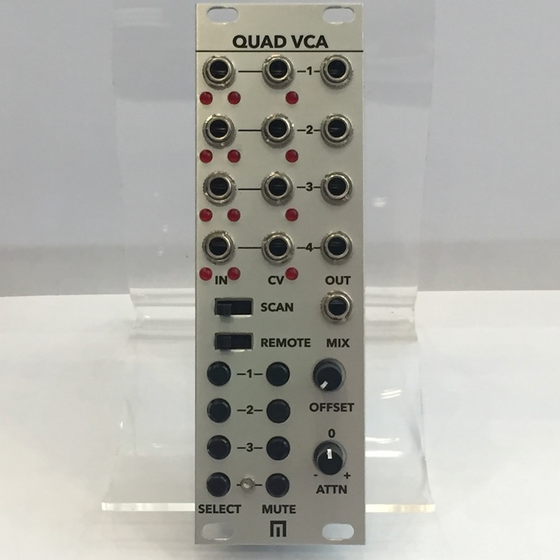 Malekko Heavy Industry/Quad VCA【在庫あり】