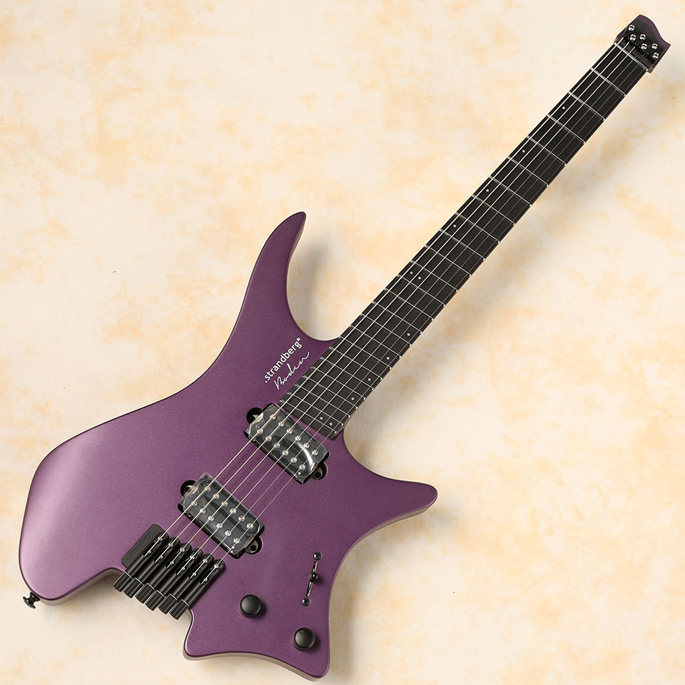 strandberg/Boden NT 6 Metal Neck-Thrpough (Purple Pearl)