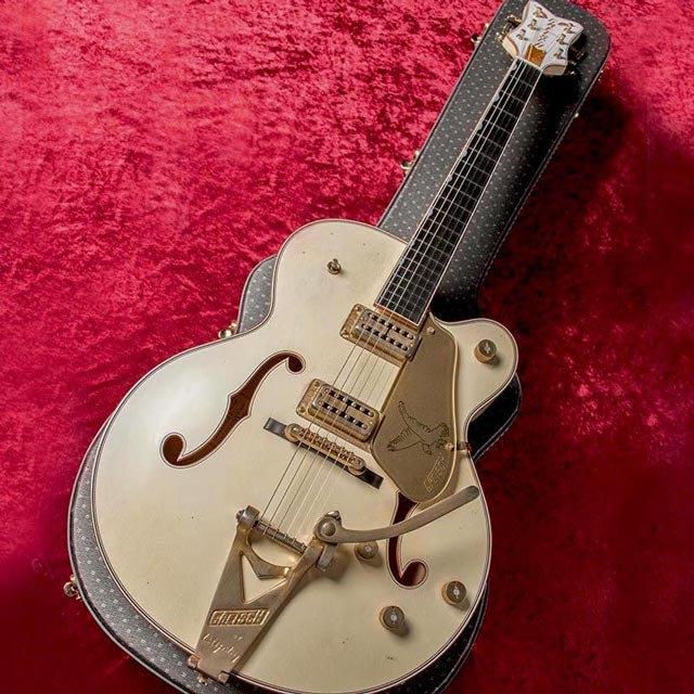 "Gretsch/Custom Shop G6136TCS ""1958 BS Spec"" White Falcon Relic (Built by Stephen Stern)"