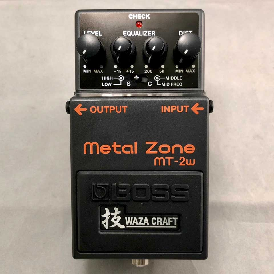 BOSS/MT-2W Metal Zone【お取り寄せ商品】