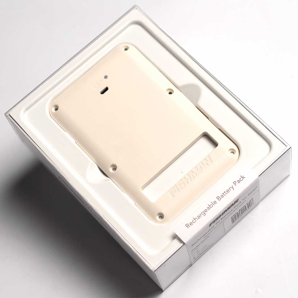 FISHMAN/Rechargeable Battery Pack for Strat -White-【お取り寄せ商品】