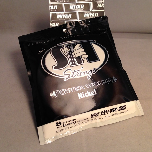 SIT Strings/8 strings for berg guitars【8弦用】【再入荷】【在庫あり】
