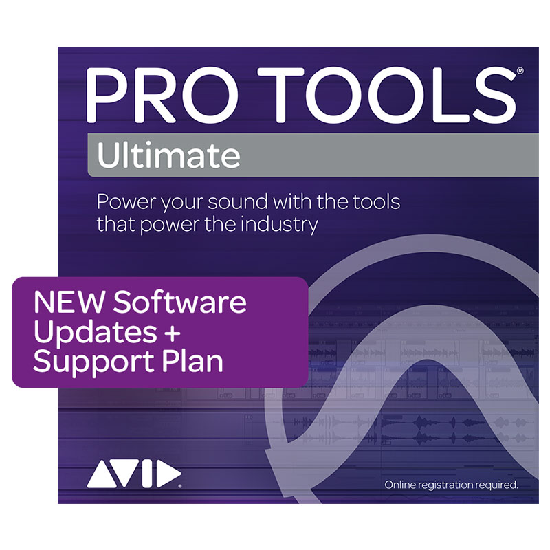 Avid/Pro Tools | Ultimate 1-Year Software Updates + Support Plan NEW【再加入】【オンライン納品】