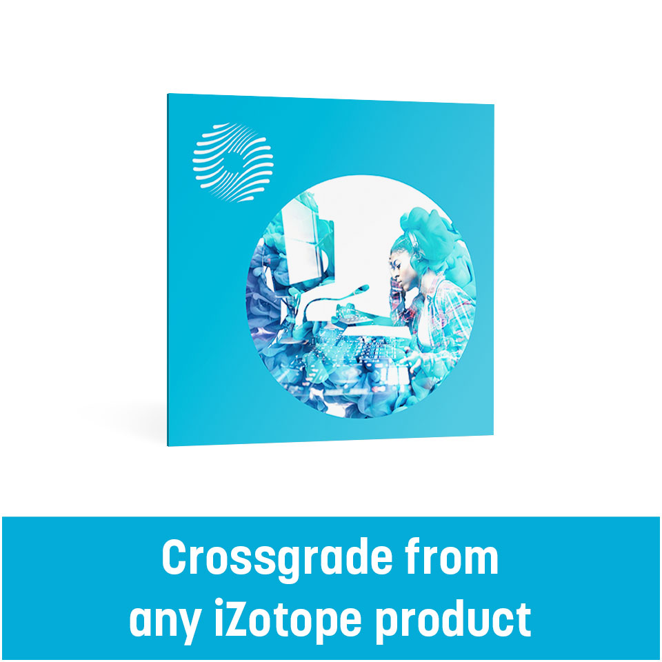 iZotope/OZONE 9 Standard :crossgrade from any iZotope product (including Exponential Audio)【オンライン納品】