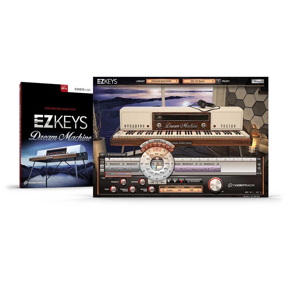 TOONTRACK/EZ KEYS - DREAM MACHINE