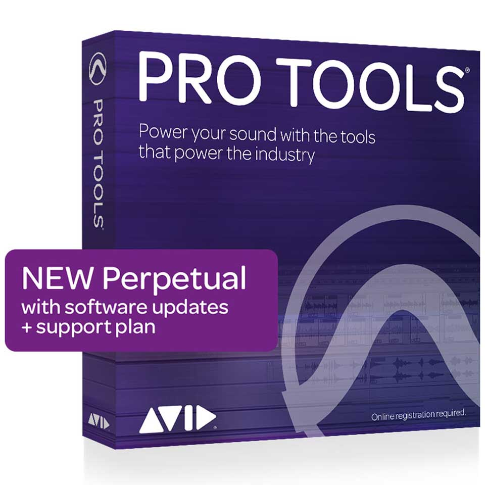 Avid/Pro Tools with Annual Upgrade and Support Plan 【新規 永続】【オンライン納品】【在庫あり】