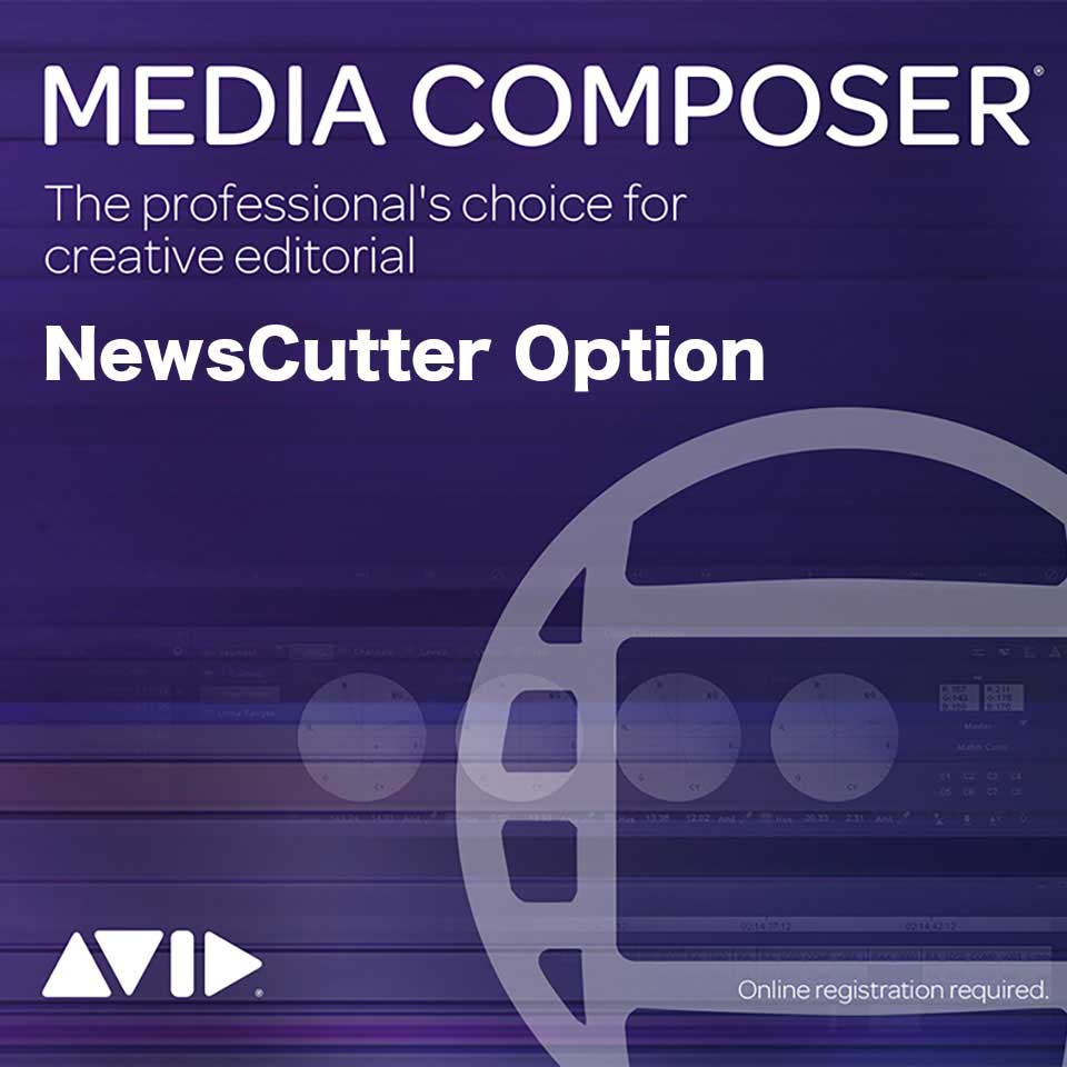 Avid/Media Composer Perpetual | NewsCutter Option Floating License: 20 Pack【永続ライセンス】【フローティング】【パッケージ版】