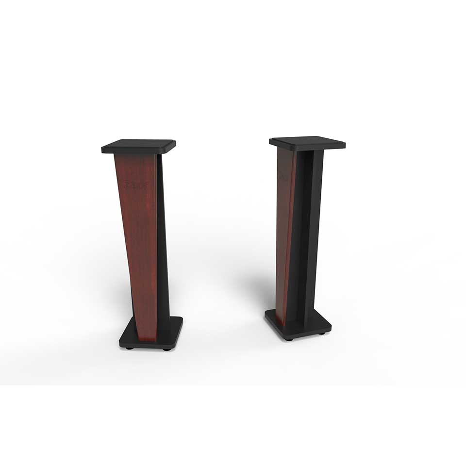 Zaor Studio Furniture/Croce Stand 36 (pair) Mahogany/Black【受発注品】