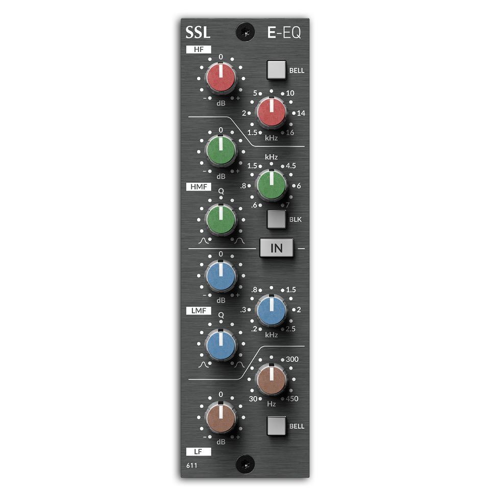 Solid State Logic/500 Series E EQ Module