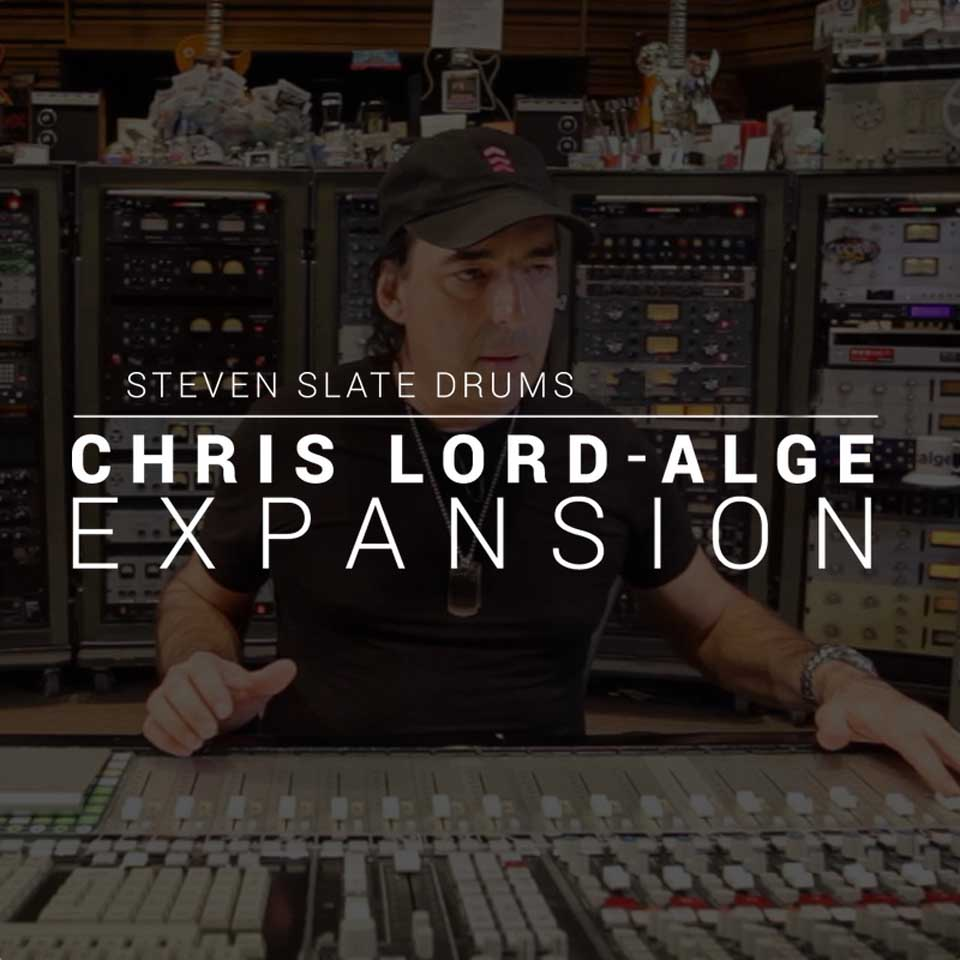 Steven Slate Drums/Chris Lord-Alge EXPANSION【オンライン納品】【SSD拡張】