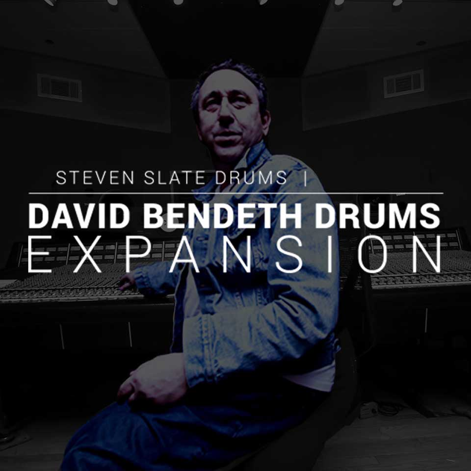 Steven Slate Drums/David Bendeth Drums EXPANSION【オンライン納品】【SSD拡張】