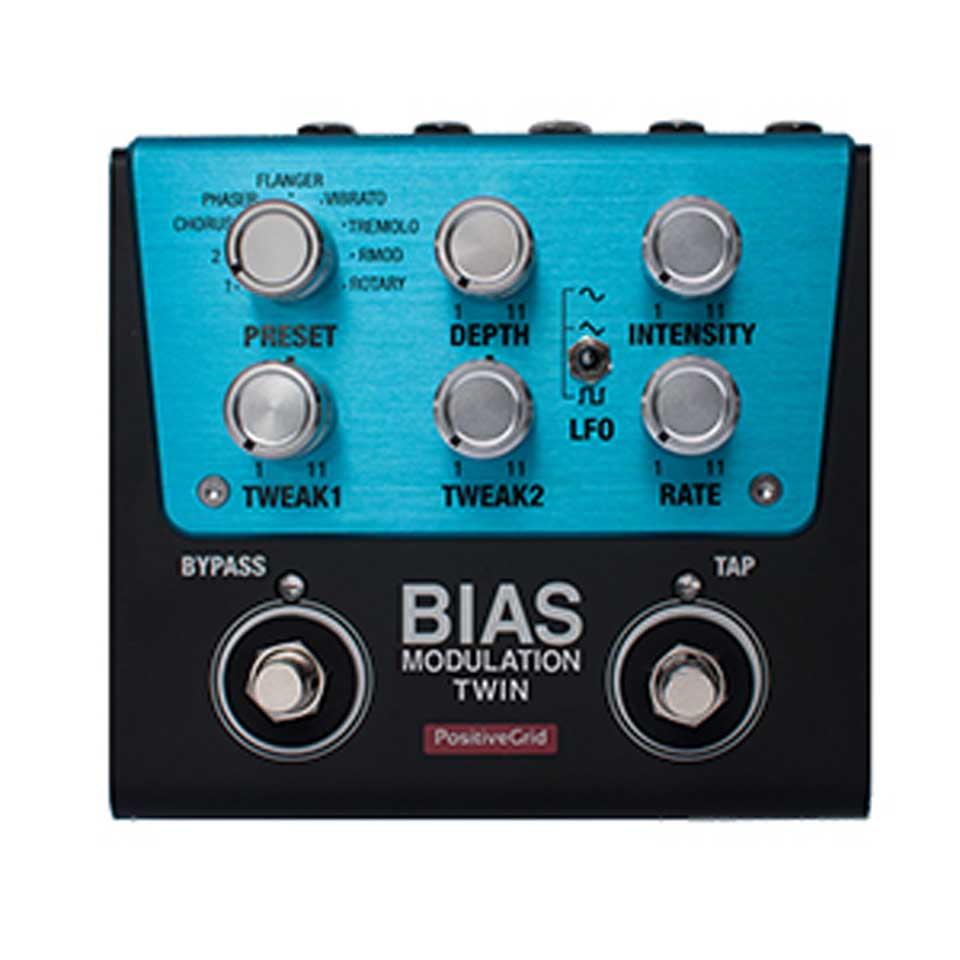 Positive Grid/BIAS Modulation Twin