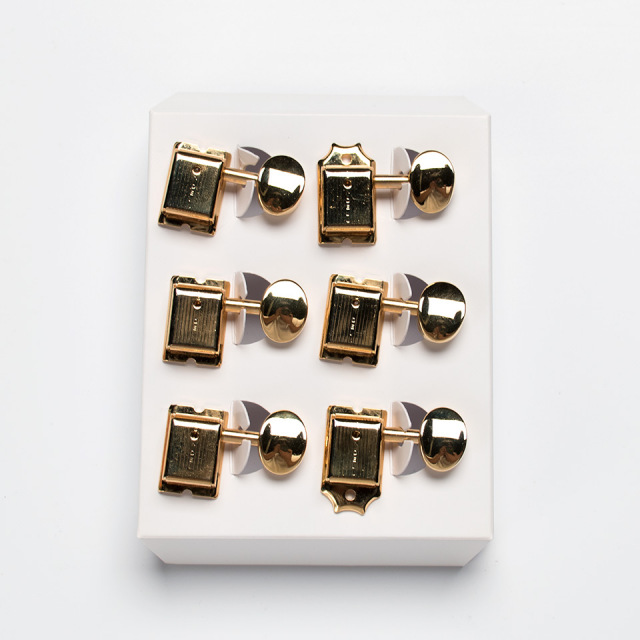 Kluson/Kluson Deluxe 6 in line / MB / Gold【クルーソン】【ペグ】【お取り寄せ商品】
