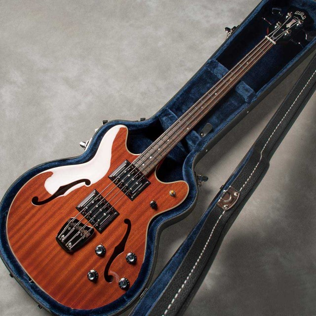 "GUILD/""Newark St. Collection Basses"" Starfire Bass II (Natural)【お取り寄せ商品】"