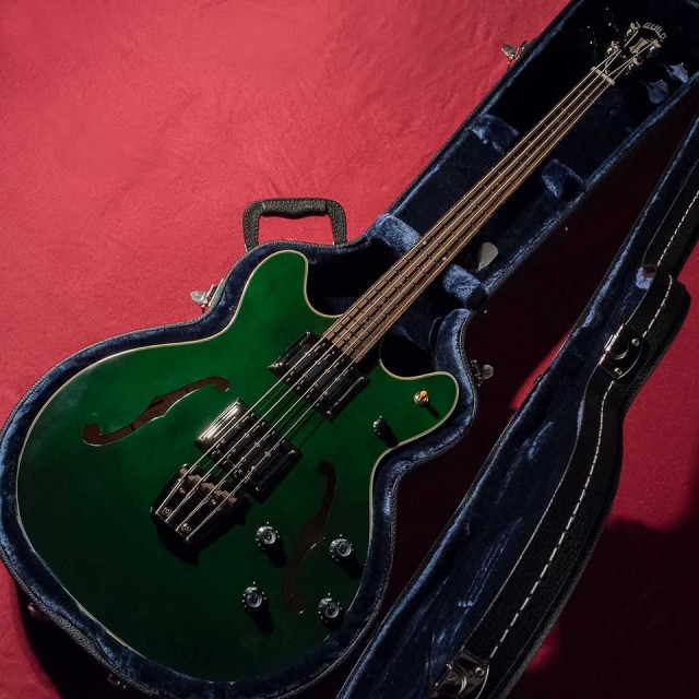 GUILD/Starfire Bass II (Emerald Green)【ギルド】【セミホロウ】