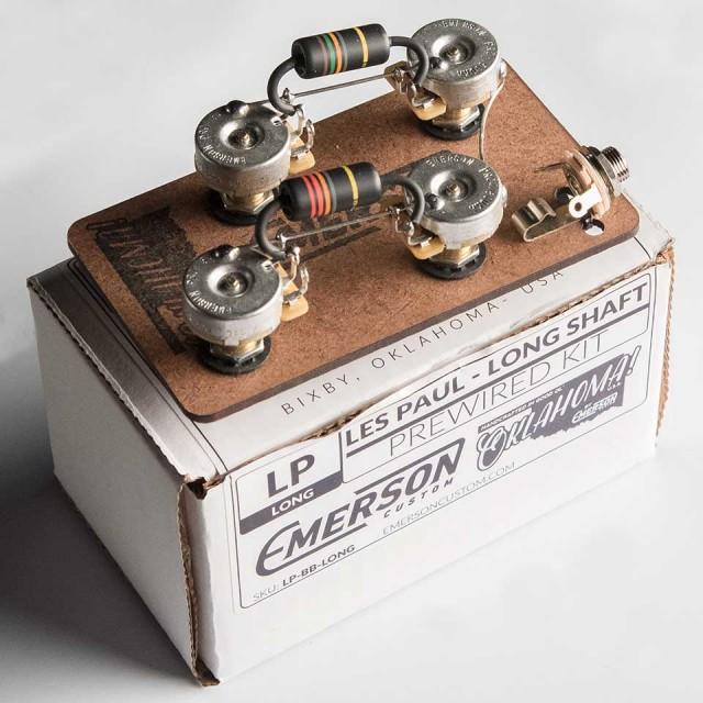 Emerson Custom/Emerson Custom Pre-Wired Kit Les Paul / Long / BB【エマーソン】【在庫あり】