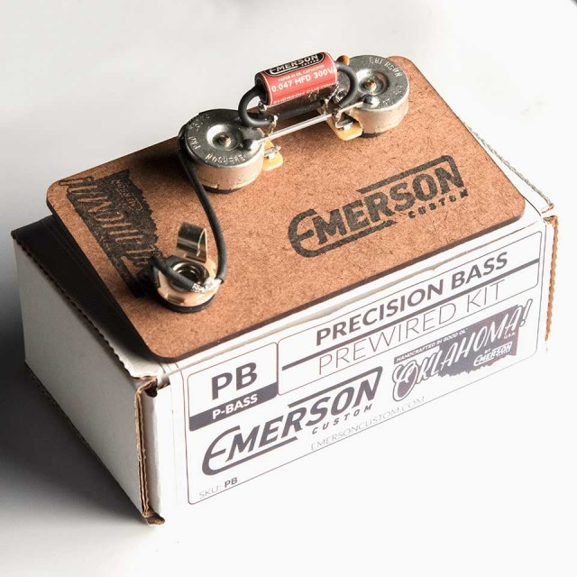 Emerson Custom/Emerson Custom Pre-Wired Kit Precision Bass【エマーソン】【お取り寄せ商品】