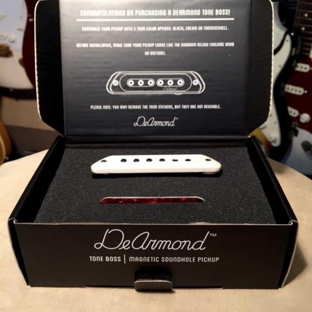 DeArmond/Soundhall Pickup TONE BOSS【アコギ】【ディアルモンド】【ピックアップ】【お取り寄せ商品】