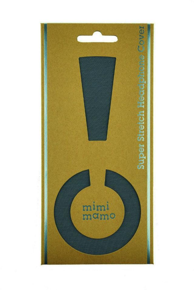 mimimamo/スーパーストレッチヘッドホンカバー L (グレー)【在庫あり】【ネコポス発送】