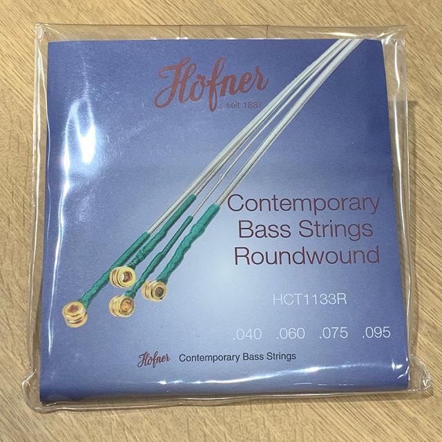 Hofner / HCT1133R 専用弦 (ラウンド ワウンド) 【在庫あり】【na_rf】
