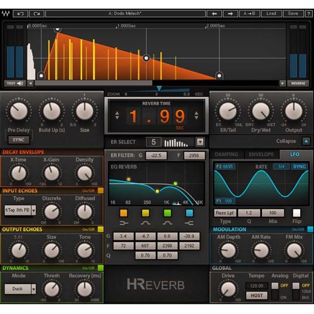 Waves/H-Reverb Hybrid Reverb【期間限定キャンペーン】【オンライン納品】【在庫あり】