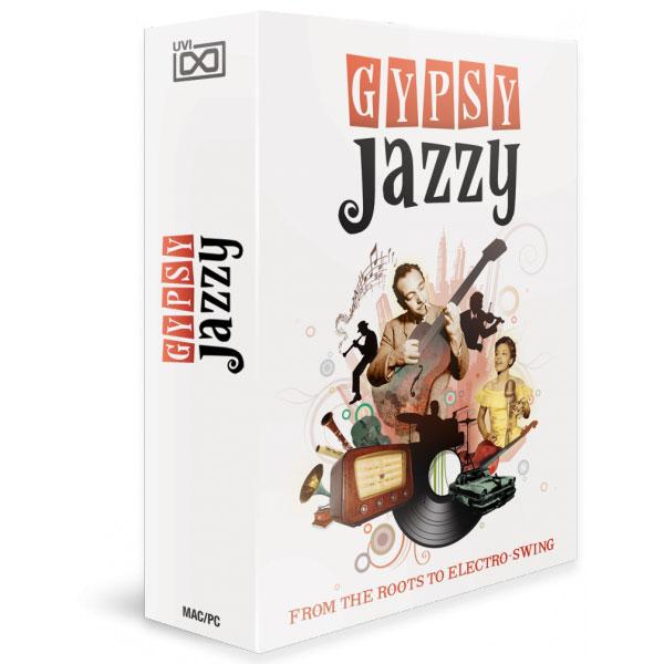 UVI/Gypsy Jazzy【オンライン納品】