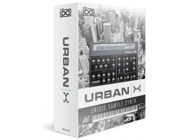 UVI/URBAN X【オンライン納品】