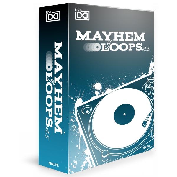 UVI/Mayhem of Loops 1.5【数量限定特価キャンペーン】【オンライン納品】【在庫あり】