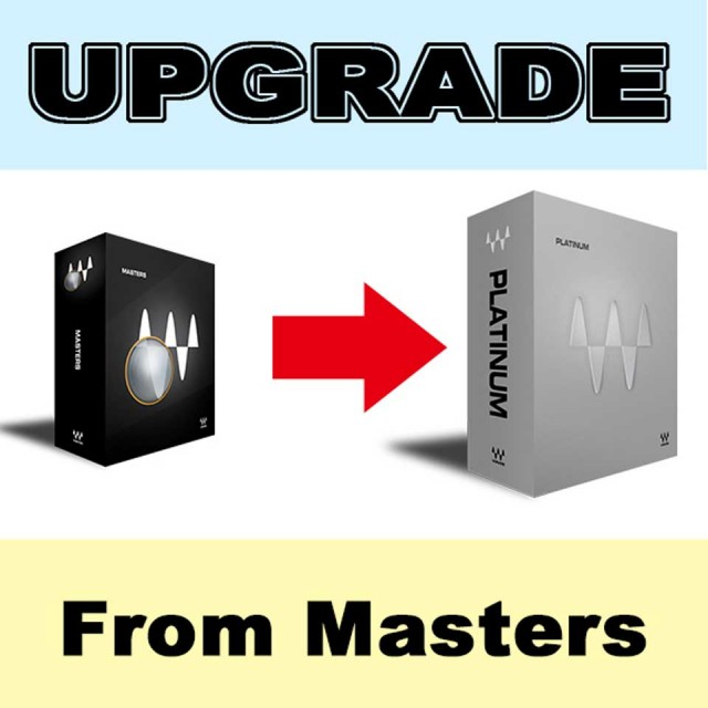 Waves/Platinum Upgrade from Masters【オンライン納品】