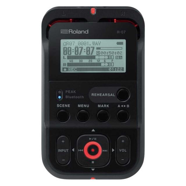 Roland/R-07 (BK) High Resolution Audio Recorder(ブラック)