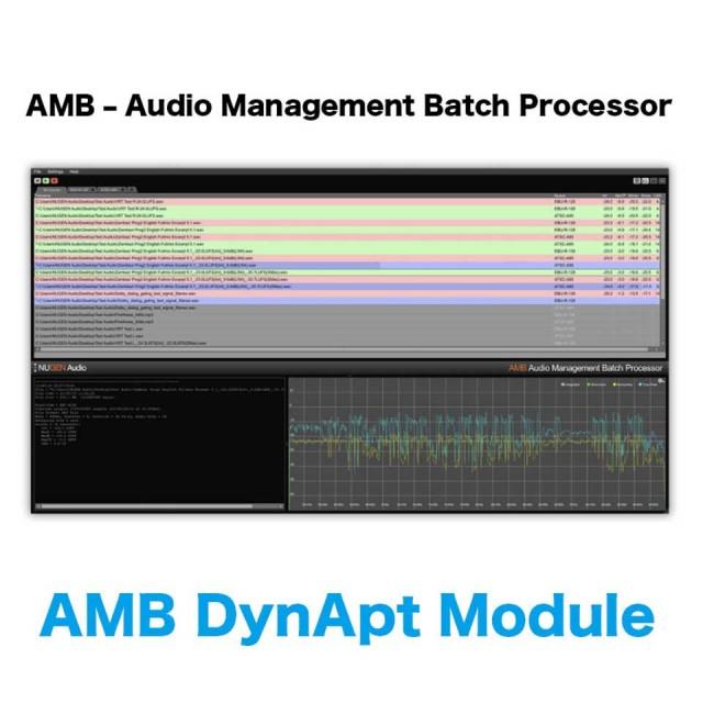 Nugen Audio/AMB DynApt Module【オンライン納品】