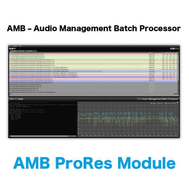 Nugen Audio/AMB ProRes Module【オンライン納品】