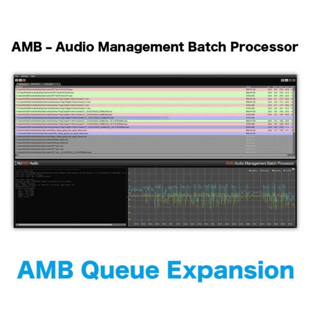 Nugen Audio/AMB Queue Expansion【オンライン納品】