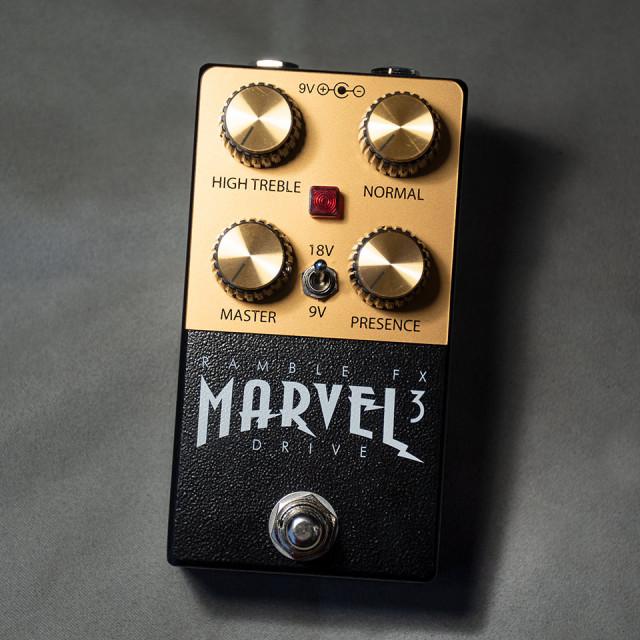 Ramble FX/Marvel Drive V3 Black【在庫あり】【再入荷!】
