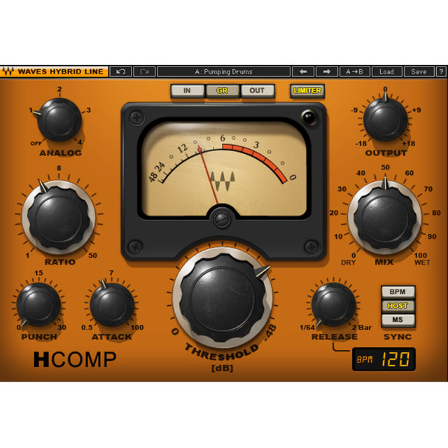 Waves/H-Comp Hybrid Compressor【期間限定キャンペーン】【オンライン納品】【在庫あり】
