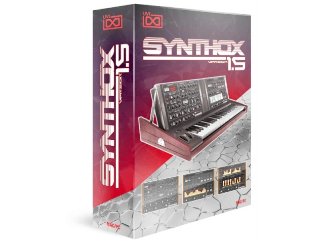 UVI/Synthox 1.5【オンライン納品】