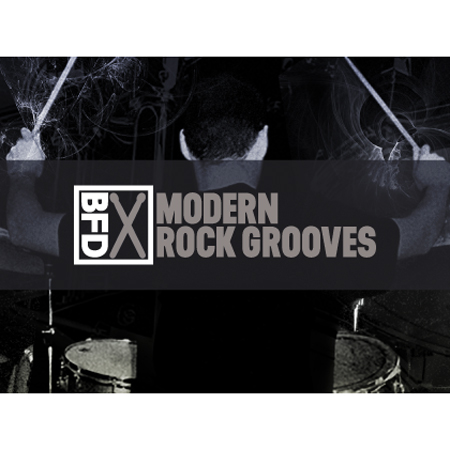 FXPansion/BFD3 Groove Pack: Modern Rock Grooves【オンライン納品】【BFD拡張】
