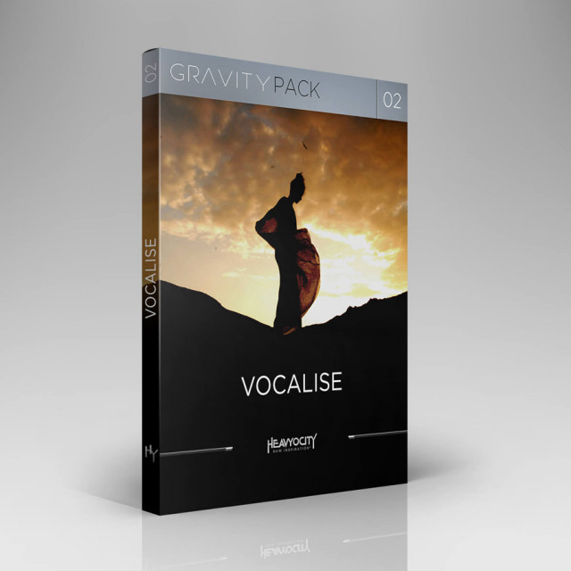 HEAVYOCITY/GRAVITY PACK 02 - VOCALISE【オンライン納品】